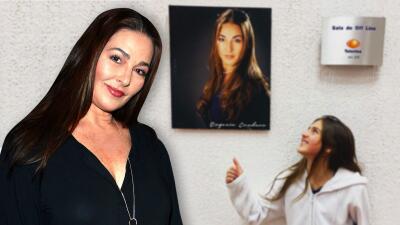 Eugenia Cauduro está feliz porque su hija ya sigue sus pasos en la actuación