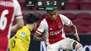 Juega Edson Álvarez 12 minutos en triunfo del Ajax
