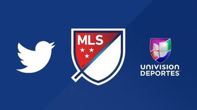 Todos los partidos de la MLS por Univision Deportes ahora se transmitirán por Twitter