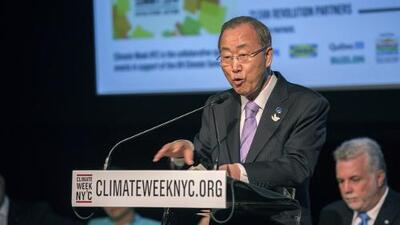 Líderes mundiales luchan contra el cambio climático en Cumbre de la ONU