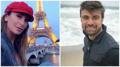 Geraldine Bazán reacciona a la 'infidelidad' a Santiago Ramundo y confiesa que su mensaje en París era para él