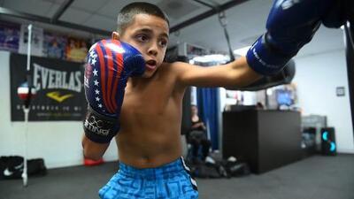 A sus 10 años, Dylan Capetillo es el futuro del boxeo