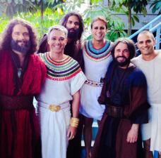José de Egipto: las mejores fotos detrás de cámaras