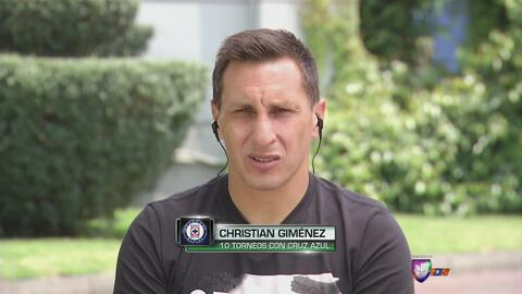 "Christian ""Chaco"" Giménez: ""Cruz Azul tiene que ser protagonista"""