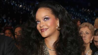 Tienes que ver el vestido que usó Rihanna para festejar sus 30 años