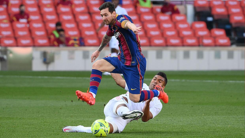 Messi no anota en Clásicos desde salida de Cristiano a Juventus | Deportes  La Liga | TUDN Univision
