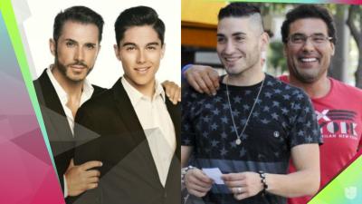 No solo  Eduardo Yáñez: éstos famosos también han sufrido malas relaciones con sus papás