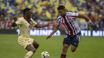 El posible XI inicial del Chivas vs América en Chicago