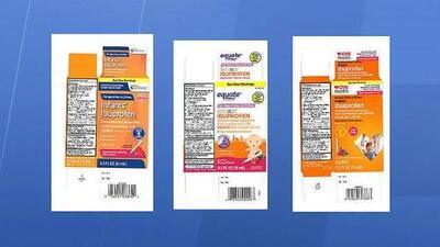 Retiran del mercado ibuprofeno para bebés por contener una concentración más alta de la recomendada