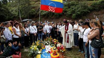 Gobierno venezolano enterró al expolicía Óscar Pérez y solo permitió la presencia de dos familiares