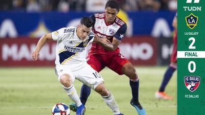 LA Galaxy vuelva a la senda ganadora bajo la batuta de Cristian Pavón