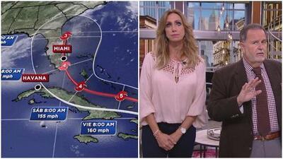 El huracán Irma ha puesto en problemas a toda la producción de El Gordo y La Flaca