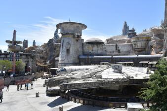 Una mirada al interior del nuevo parque temático de Star Wars: Galaxy Edge (fotos)