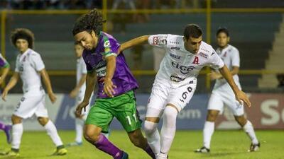 Alianza no aprovechó su localía y empató con Antigua en la Liga de Campeones