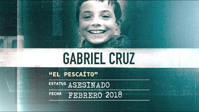 La Huella de un Crimen: Gabriel 'el pescaíto' Cruz, su madrastra lo asfixió presa de la rabia