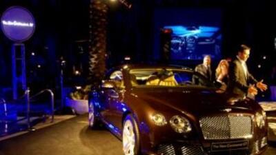 Bentley Continental GT en Miami Beach.
