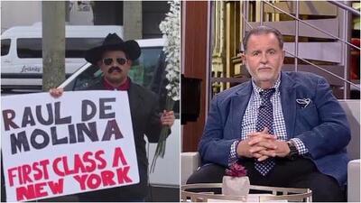 ¿'El Chapo de Sinaloa' ayudará a Raúl de Molina para que viaje a Nueva York y evite el huracán Irma?