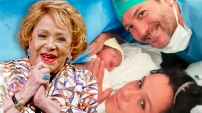 Silvia Pinal se convierte nuevamente en abuela: ya nació su primer nieto varón