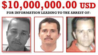 Con 'El Chapo' tras las rejas, 'El Mencho' es el nuevo enemigo público #1 de EEUU