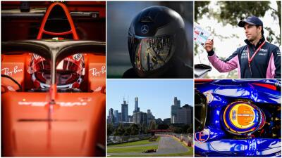 Las mejores imágenes que dejó el día de prácticas en el Gran Premio de Australia