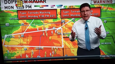 Weatherman goes off on viewers complaining about tornado warning