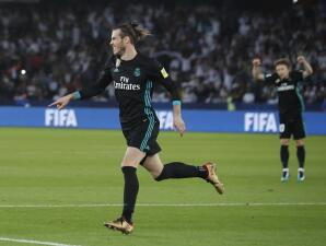 Gareth Bale salvó al Madrid ante el Al-Jazira en la semifinal del Mundial de Clubes