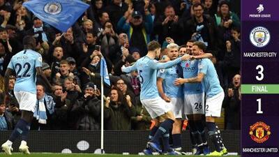 Another one bites the dust! Manchester City hizo morder el polvo al United