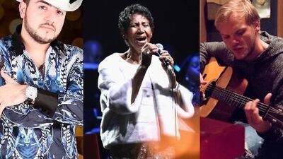 Artistas que fallecieron en el 2018, aunque su música los mantendrá vivos en los corazones de sus fans