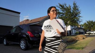 Jessica Cisneros, la latina que quiere romper el récord de Alexandria Ocasio-Cortez y ser la congresista más joven de la historia
