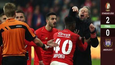 SUSPENSIÓN DEFINITIVA: Standard Liege-Anderlecht con Memo Ochoa, manchado por disturbios