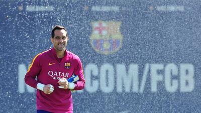 Claudio Bravo, el elegido por Josep Guardiola para el Manchester City
