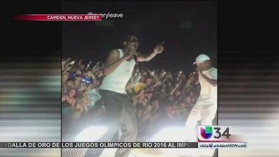 Fanáticos terminaron con huesos rotos en concierto de Snoop Dogg