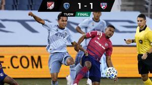 Franco Jara marca su primer gol en MLS en empate de Dallas contra Kansas City