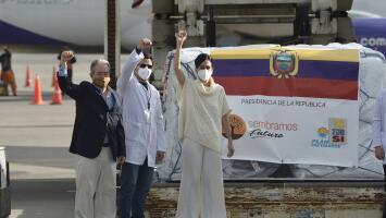 Con la llegada de las primeras vacunas contra el coronavirus, se pone en marcha el plan de inmunización en Ecuador