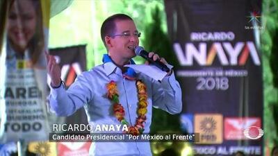 """""""Vamos a romper el pacto de impunidad"""": Ricardo Anaya"""