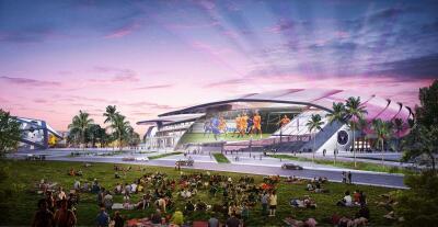 Inter Miami CF presentó las proyecciones finales de su futuro estadio en Freedom Park