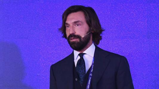 Como un maestro: Andrea Pirlo logró su licencia de entrenador UEFA
