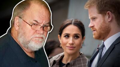 El papá de Meghan Markle llama arrogante al príncipe Harry