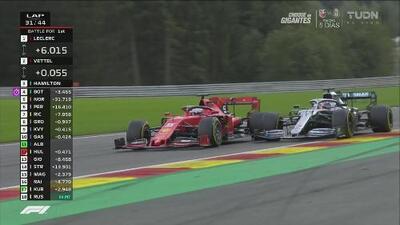 Hamilton le gana la partida a Vettel: a la cacería por Leclerc