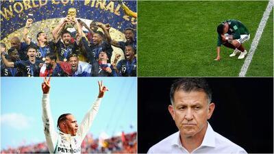 El anuario | Julio, Francia alcanzó la gloria mundialista otra vez y el Tri se derrumbó