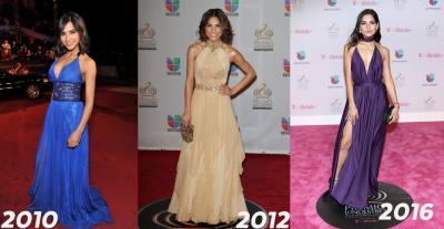 Encuesta #TBT: las mujeres mejor vestidas en la historia del Premio Lo Nuestro