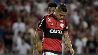 El Flamengo suspende contrato a Paolo Guerrero tras decisión del TAS