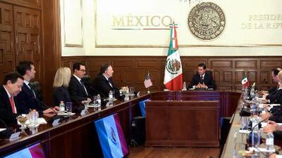 """Peña Nieto pide a delegación de EEUU la """"rápida reunificación"""" de familias inmigrantes"""