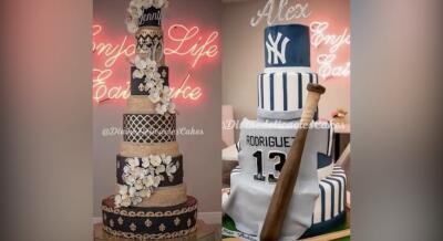 Estos son los pasteles hechos por una cubanas de Miami para el cumpleaños de JLo y su novio
