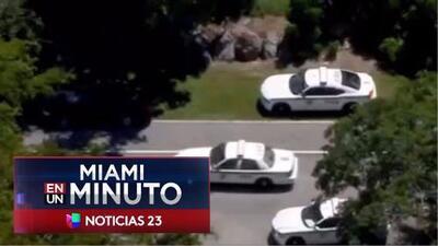 'Miami en un Minuto': Investigan tiroteo en Kendall, Florida, que dejó un hombre muerto
