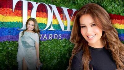"""Thalía no olvida cómo le llamaban en los TONY Awards y le """"encanta"""""""