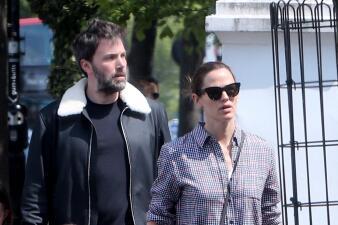 Jennifer Garner y Ben Affleck pasean en familia