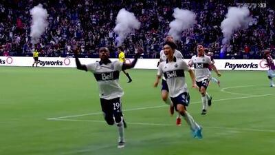 Golazo del peruano Yordy Reyna votado como el mejor de la Jornada 16 en la MLS