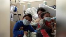 Madre fallecida y cuatro hijos huérfanos: La historia de una familia azotada por el coronavirus