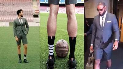 ¿Messi de pantalones cortos, saco y corbata? ¡Vestirá igual como lo hacía LeBron James!